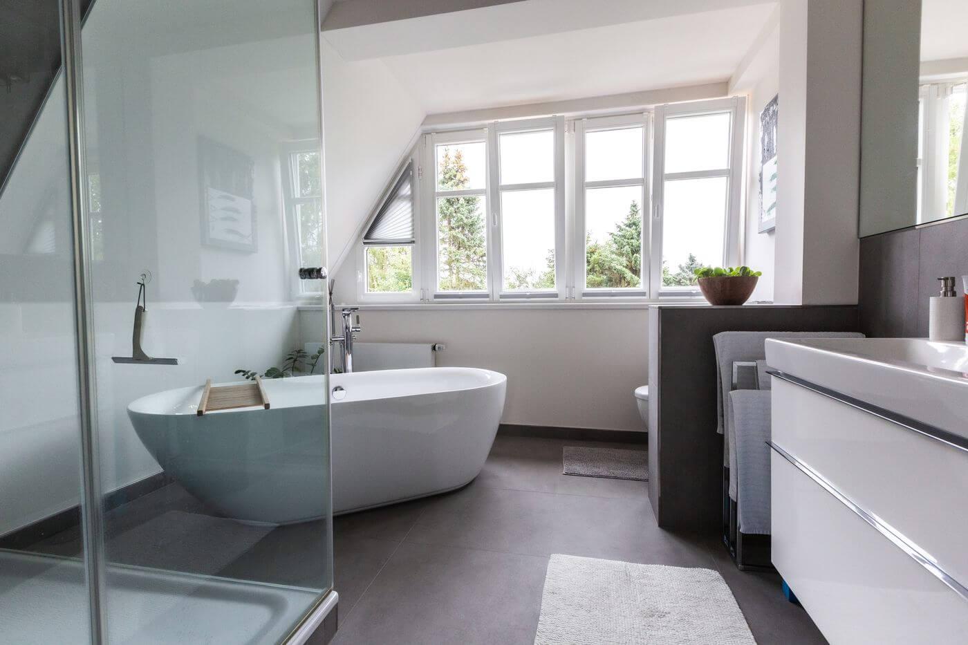 Badezimmer Modern Style